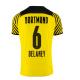Replica DELANEY #6 Borussia Dortmund Home Jersey 2021/22 By Puma