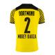 Replica MOREY BAUZA #2 Borussia Dortmund Home Jersey 2021/22 By Puma