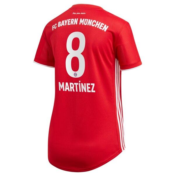 Replica MARTÍNEZ #8 Bayern Munich Home Jersey 2020/21 By Adidas Women