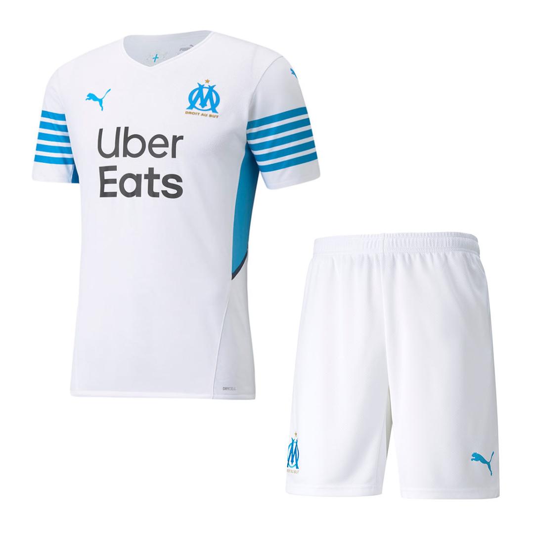 Marseilles Home Kit 2021/22 By Puma