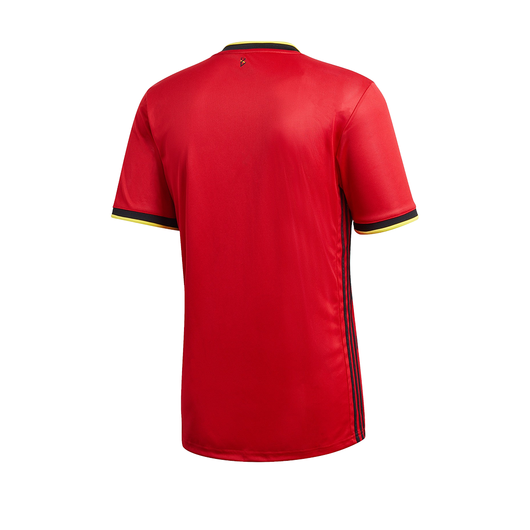Authentic Belgium Home Jersey 2020 By Adidas