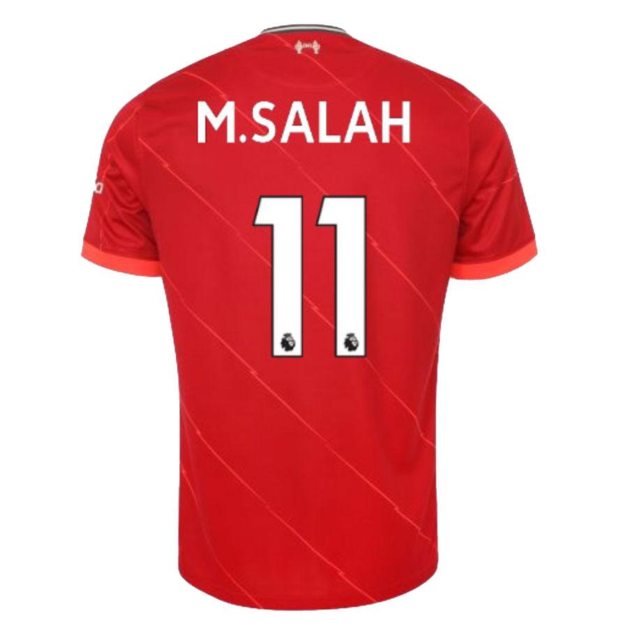 Replica M.SALAH #11 Liverpool Home Jersey 2021/22 By Nike