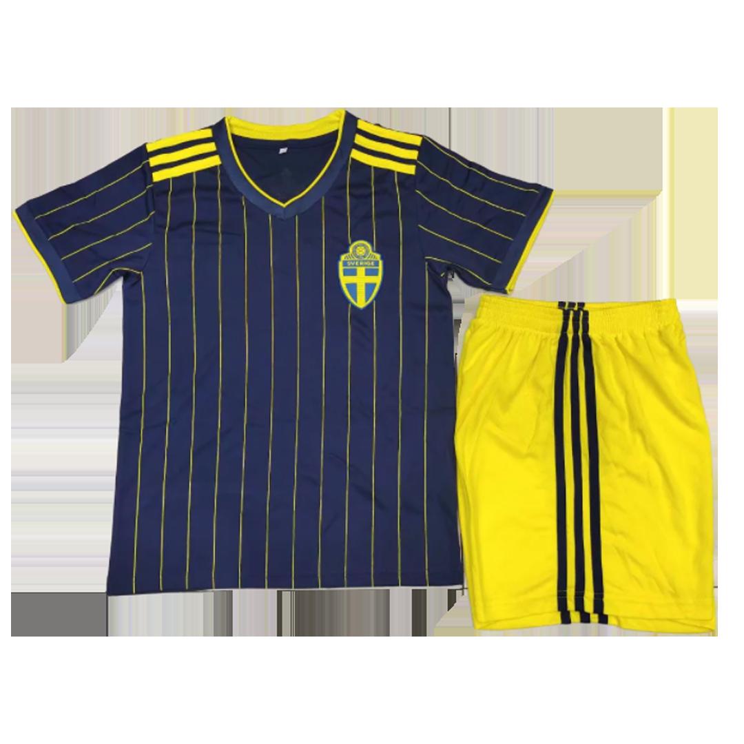 Sweden Away Kit 2020 By Adidas Kids