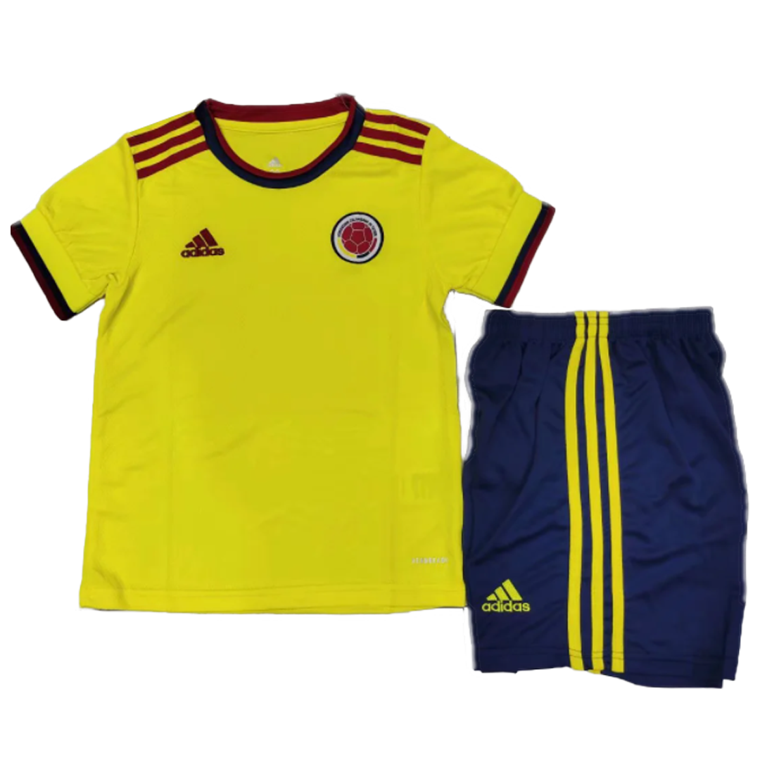 Colombia Home Kit 2020 By Adidas Kids