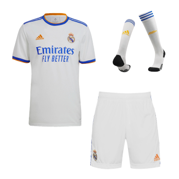 Real Madrid Home Full Kit 2021/22 By Adidas