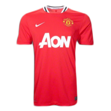 Retro Manchester United Home Jersey 2011/12 By Umbro
