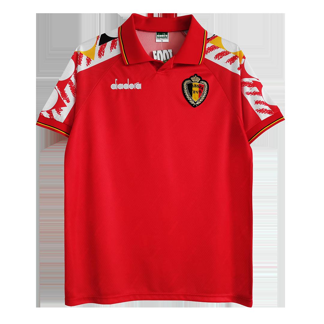 Retro Belgium Home Jersey 1995 By Adidas