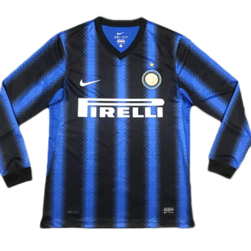 Retro Inter Milan Home Long Sleeve Jersey 2010/11 By Nike