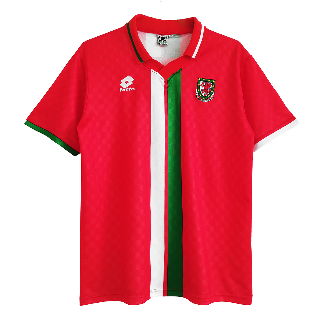Retro Wales Home Jersey 1996/98 By Adidas