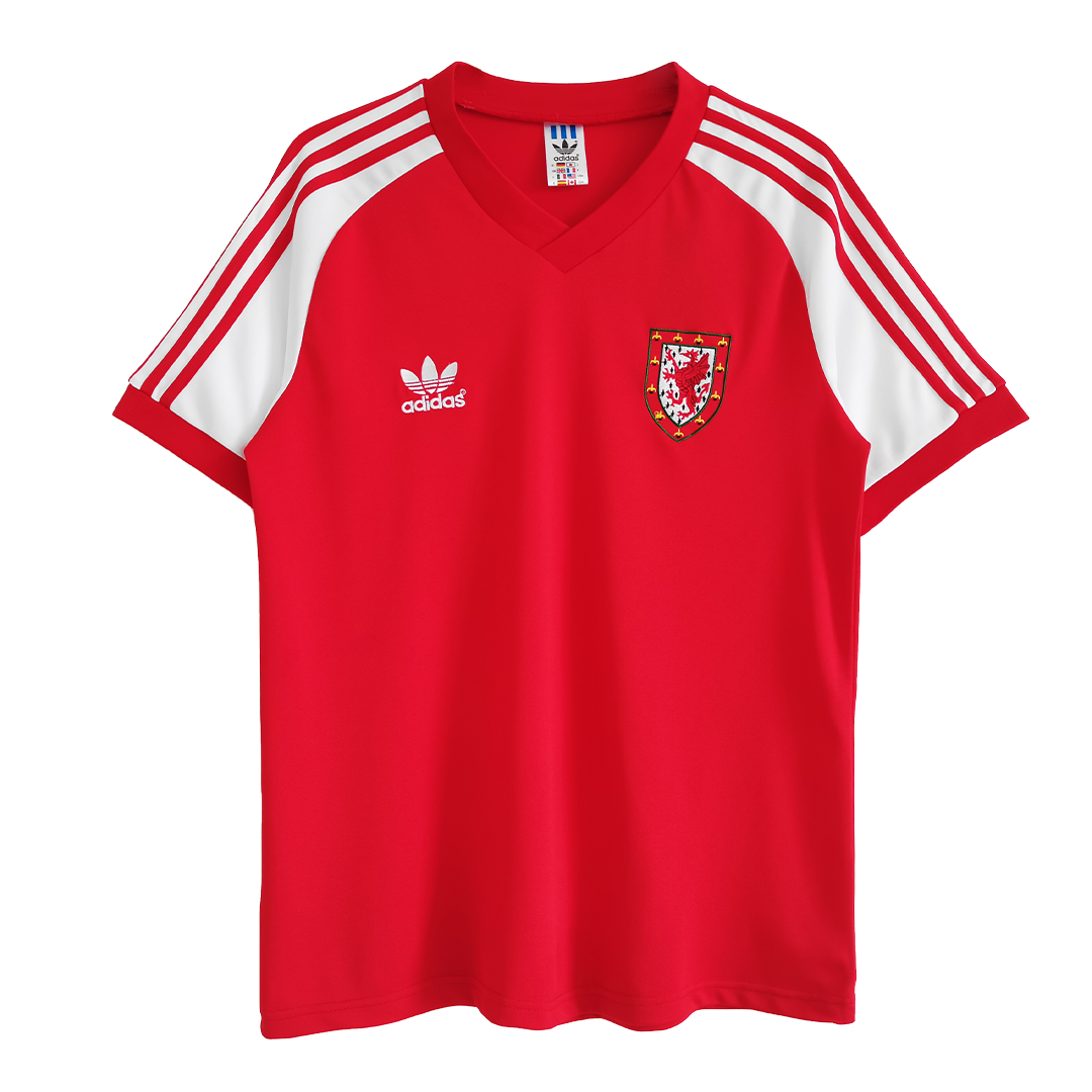 Retro Wales Home Jersey 1982 By Adidas