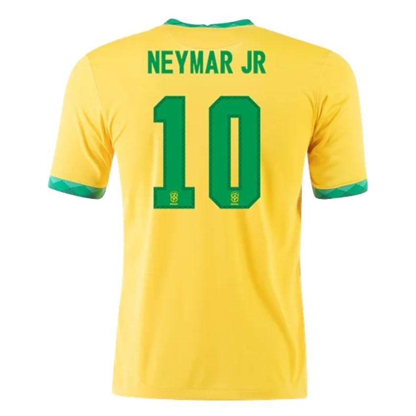 Replica NEYMAR JR #10 Brazil Home Jersey 2021 By Nike