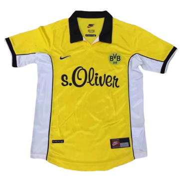 Retro Borussia Dortmund Home Jersey 1989 By Nike