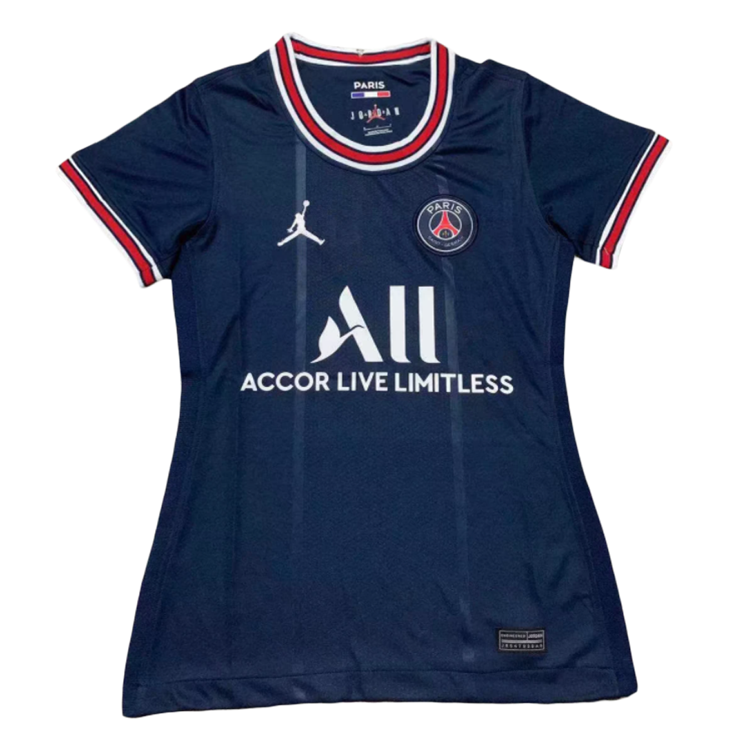 Replica Messi #30 PSG Home Jersey 2021/22 By Jordan Women - UCL Edition