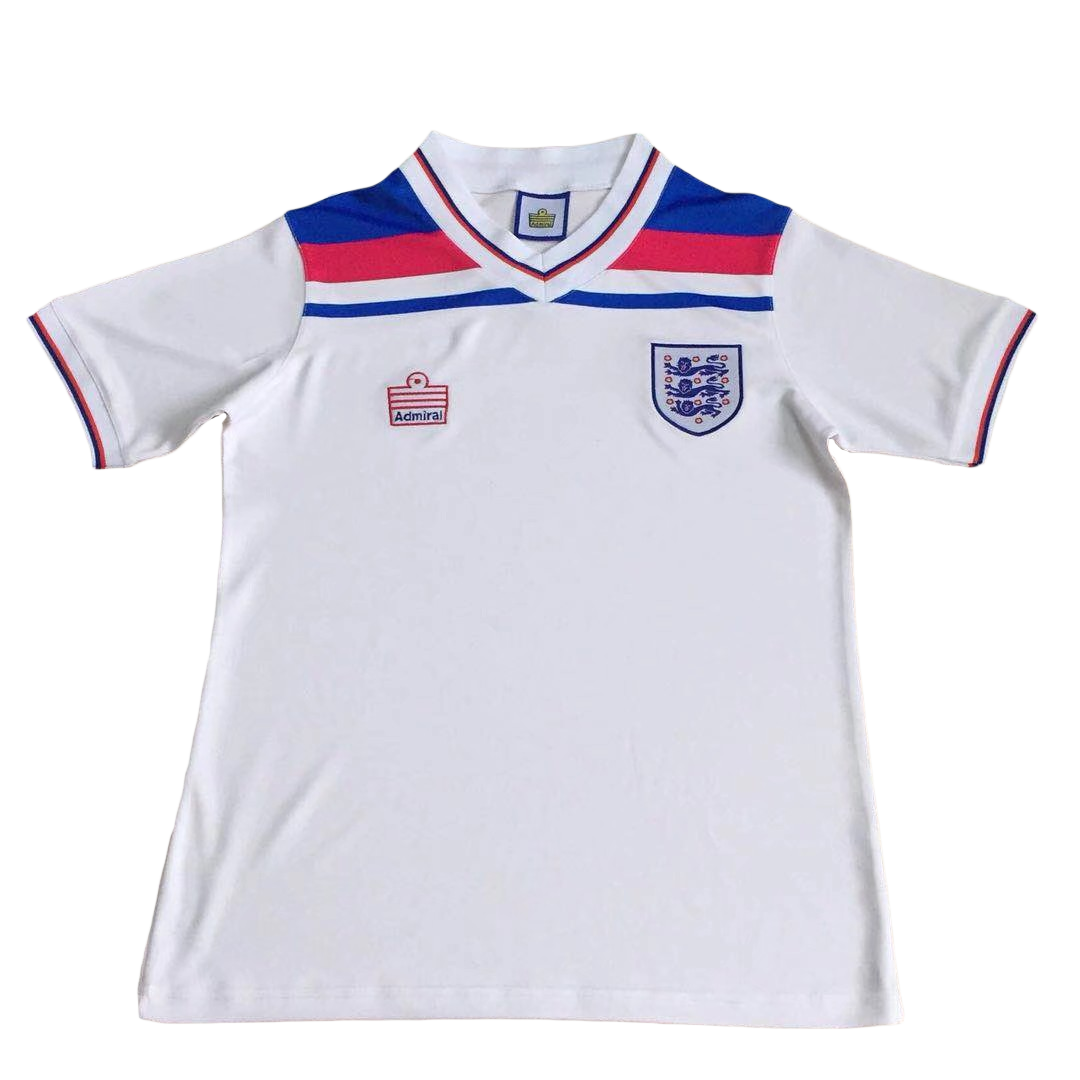 Retro England Home Jersey 1980 By Admiral