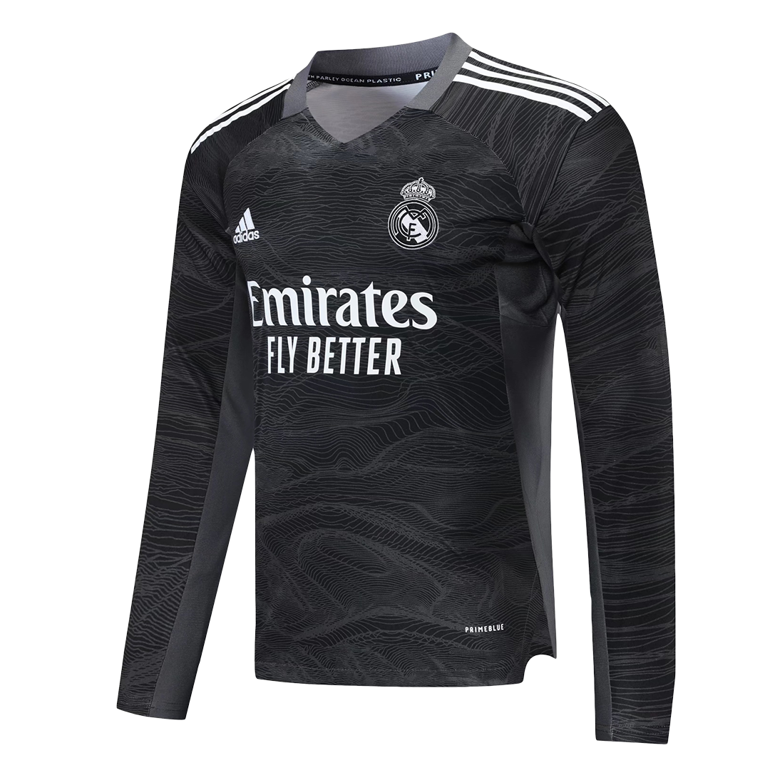 Real Madrid Long Sleeve Goalkeeper Jersey 2021/22 By Adidas