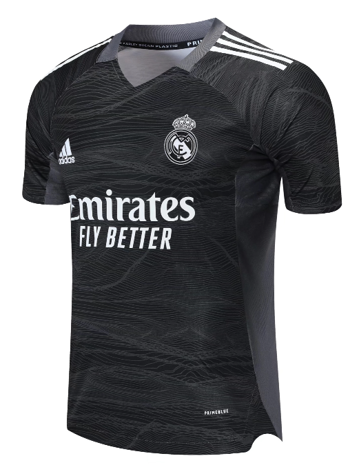 Real Madrid Goalkeeper Kit 2021/22 By Adidas