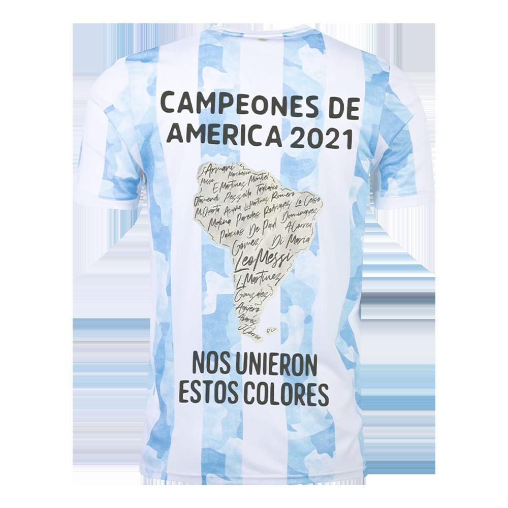 Replica Argentina Home Jersey 2021 Copa America 2021 Winner Version By Adidas