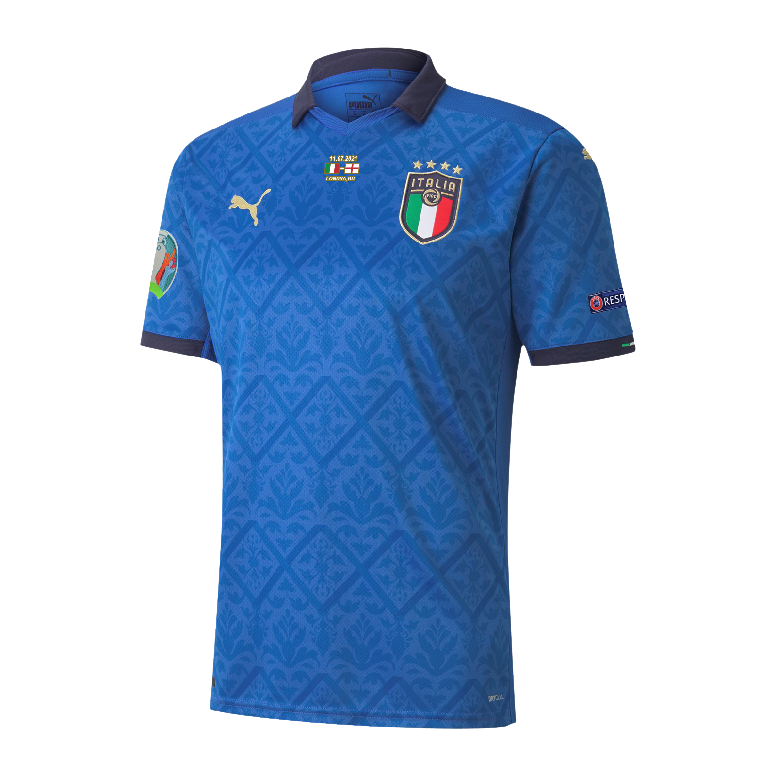Replica Italy Home Jersey Euro 2020 Final Version By Puma