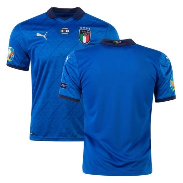 Authentic Italy Home Jersey Euro 2020 Final Version By Puma