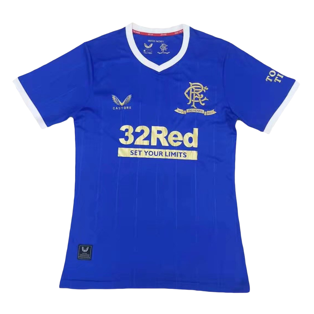 Authentic Glasgow Rangers Home Jersey 2021/22 By Castore