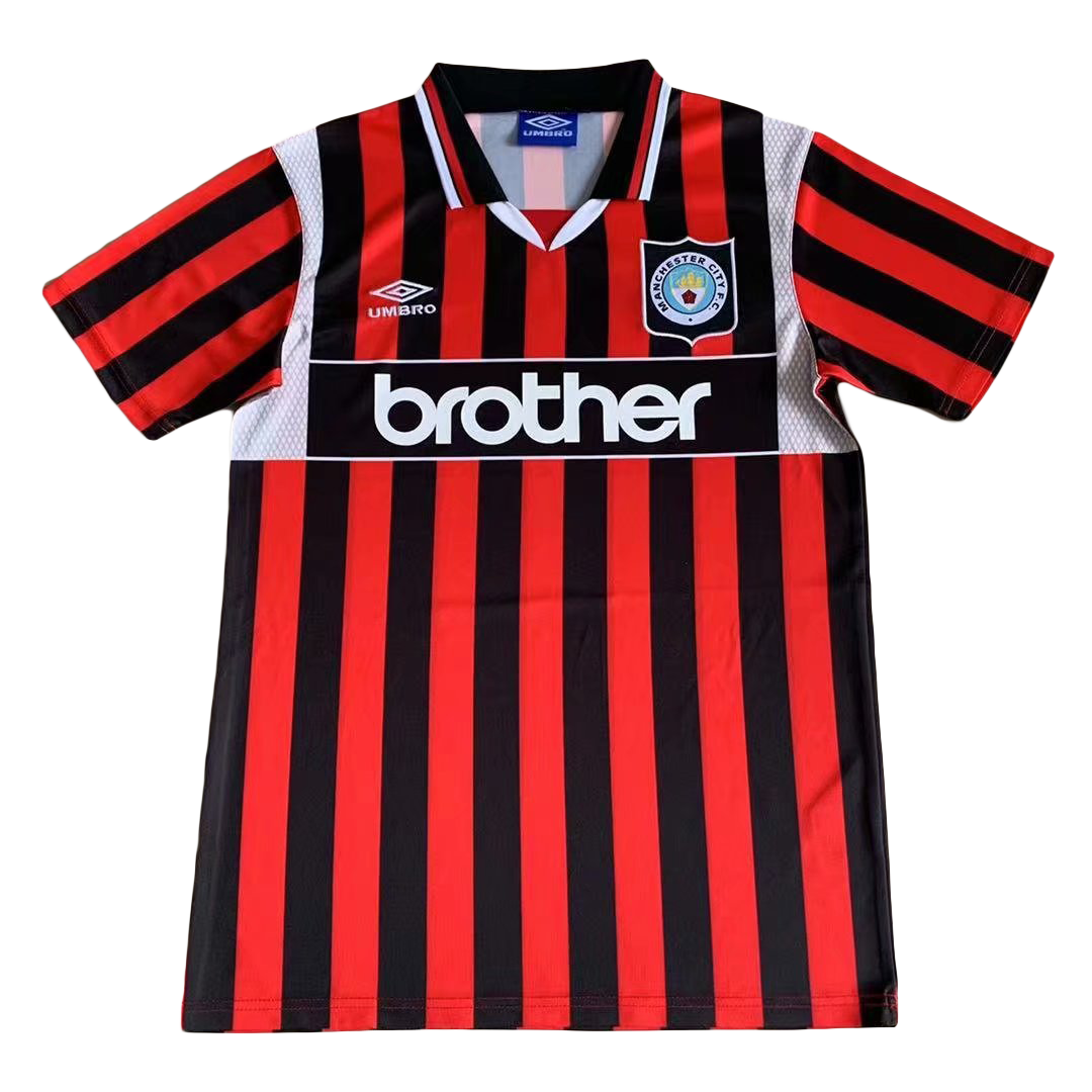 Retro Manchester City Away Jersey 1996 By Adidas