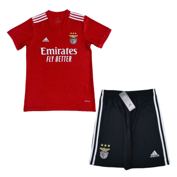 Benfica Home Kit 2021/22 By Adidas