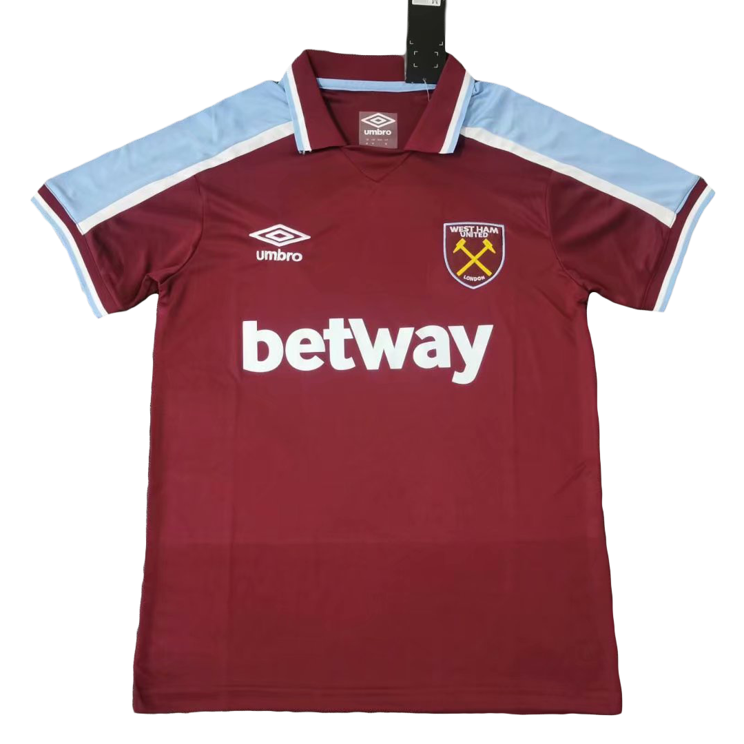 Replica West Ham United Home Jersey 2021/22 By Umbro