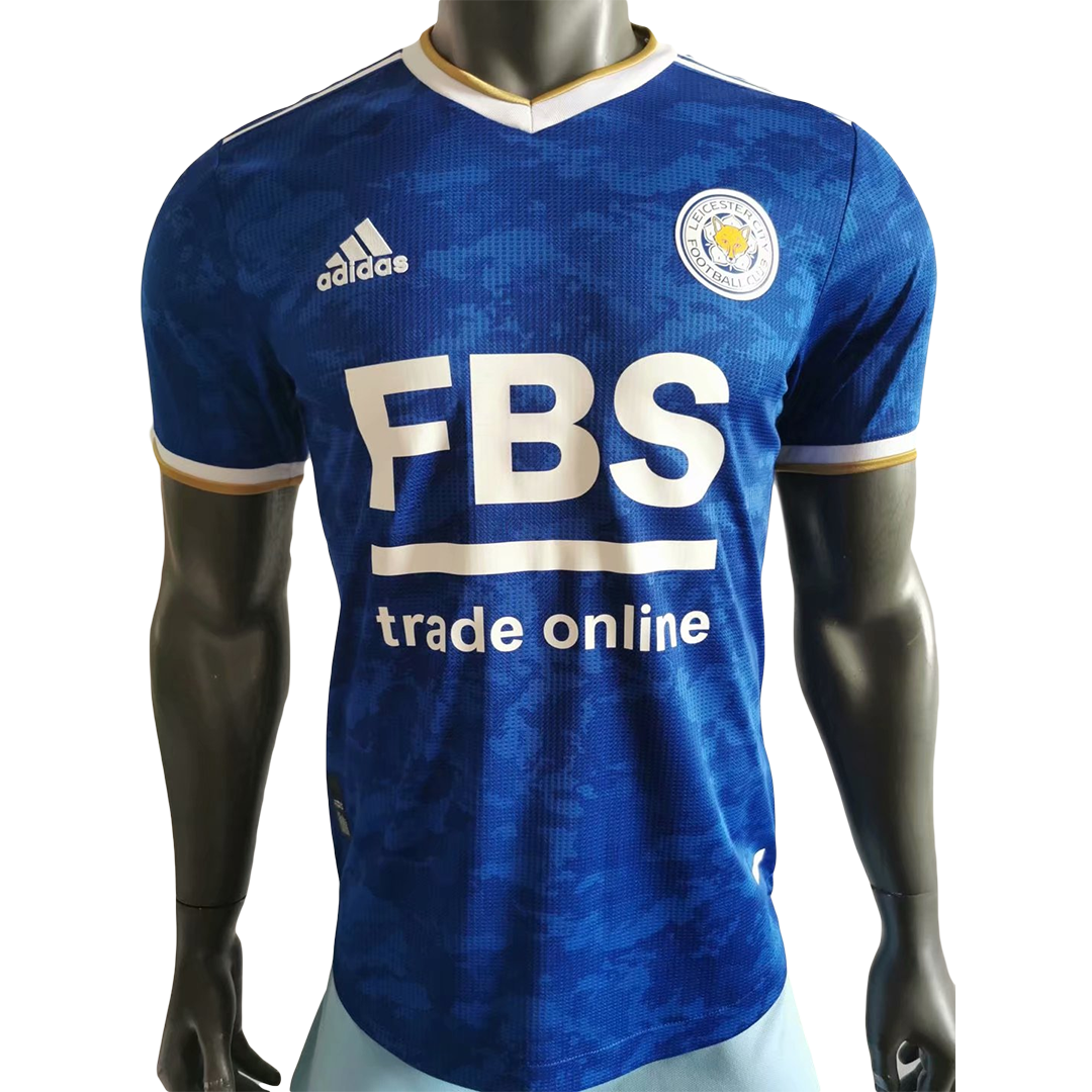 Authentic Leicester City Home Jersey 2021/22 By Adidas