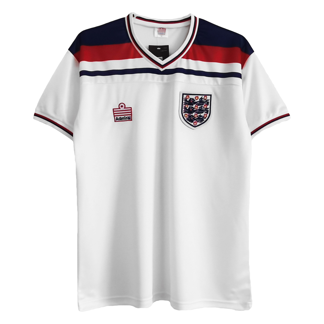 Retro England Home Jersey 1982 By Admiral