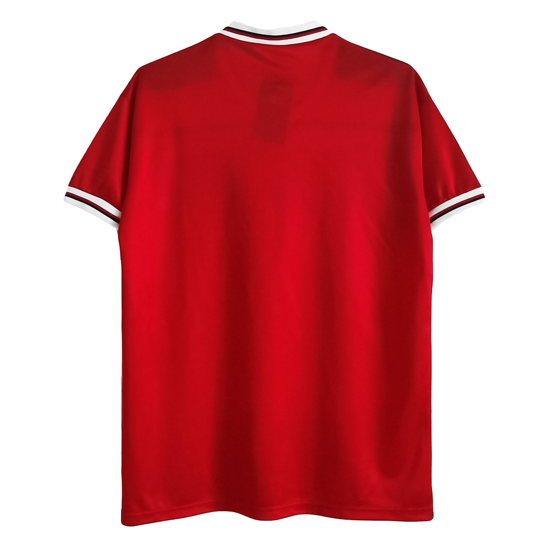 Retro England Away Jersey 1982 By Admiral