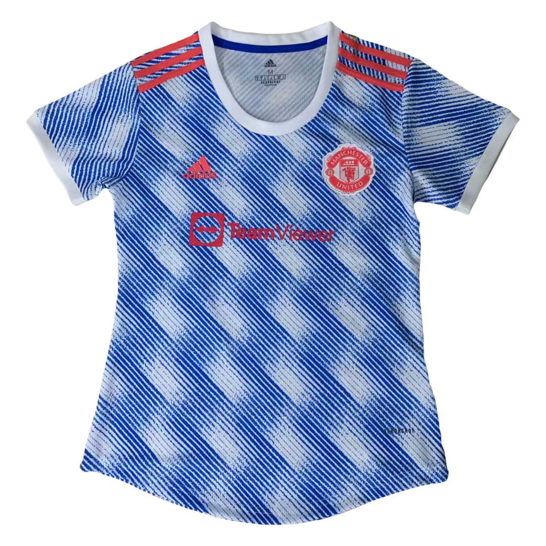 Replica Manchester United Away Jersey 2021/22 By Adidas Women