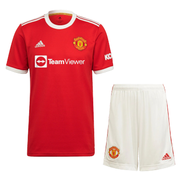 Manchester United Home Kit 2021/22 By Adidas