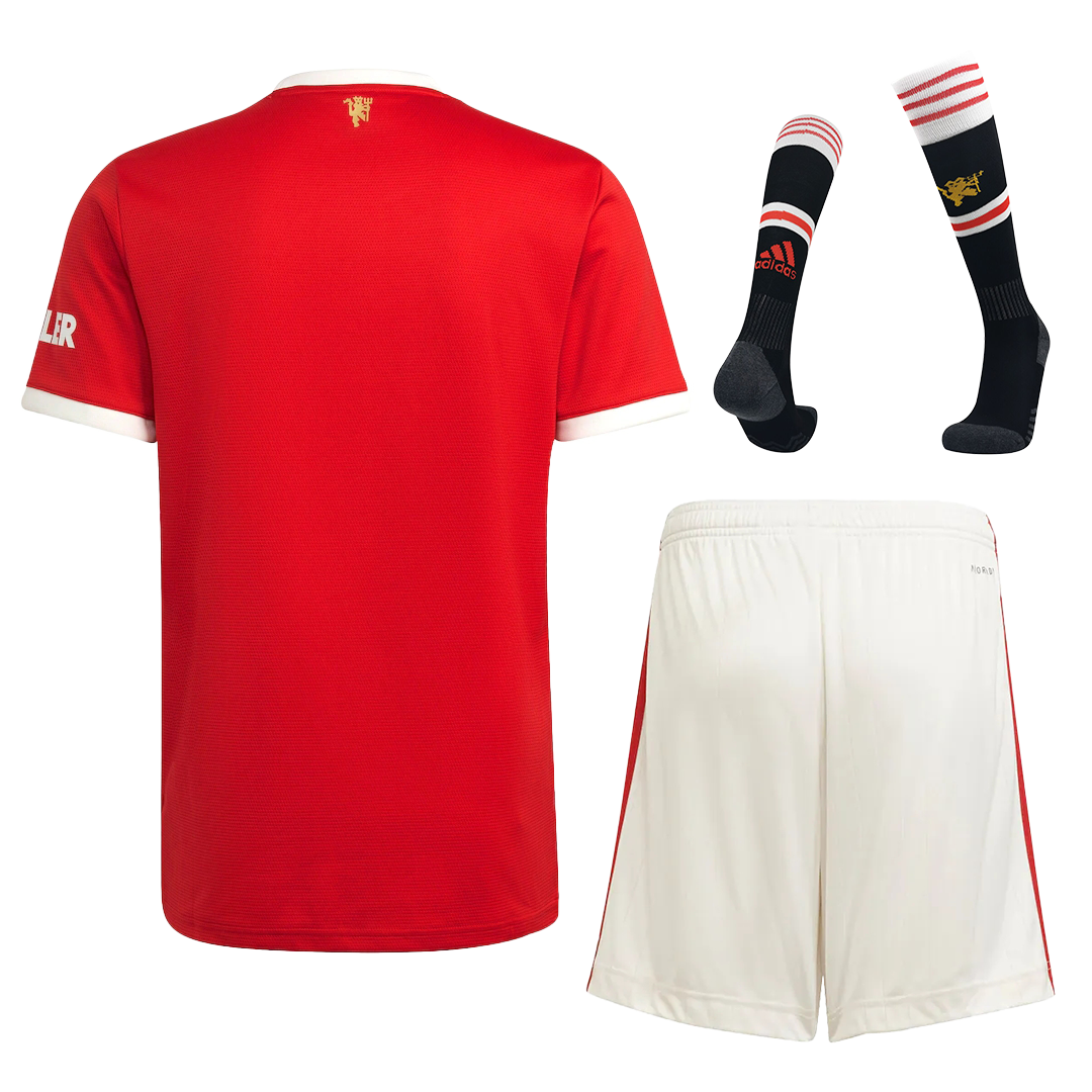 Manchester United Home Full Kit 2021/22 By Adidas
