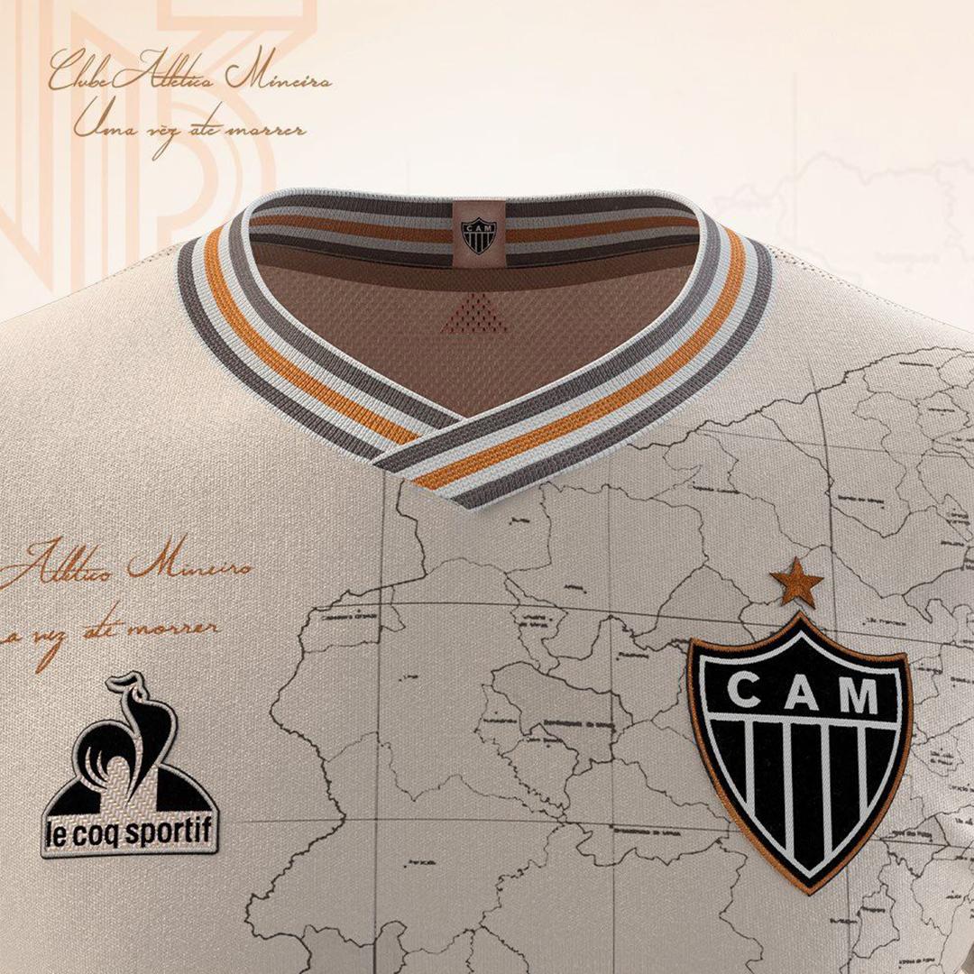 Replica Atlético Mineiro Jersey 2021/22 By Le Coq Sportif