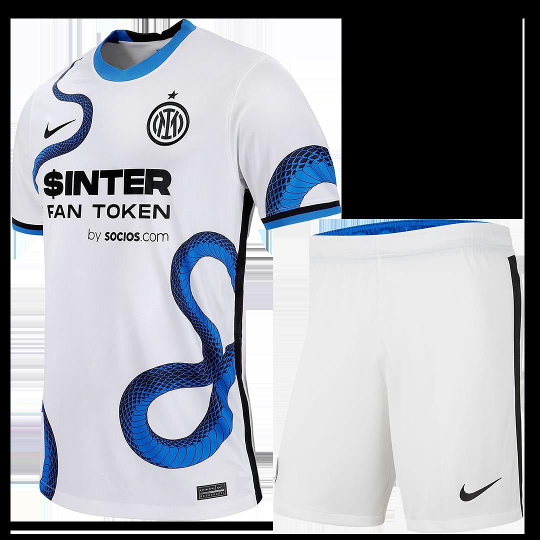 Inter Milan Away Kit 2021/22 By Nike