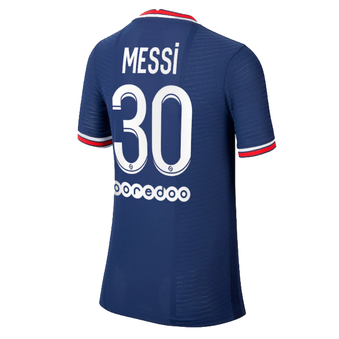 Authentic Messi #30 PSG Home Jersey 2021/22 By Jordan