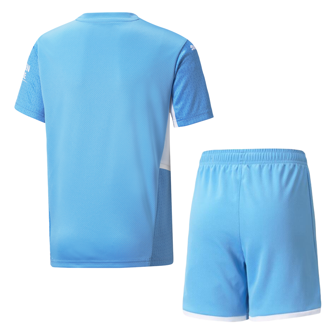 Manchester City Home Kit 2021/22 By Puma Kids