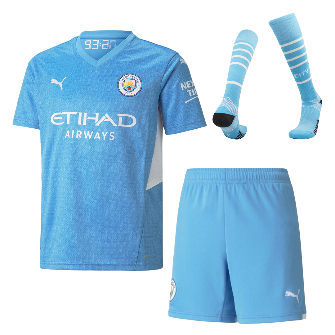 Manchester City Home Full Kit 2021/22 By Puma