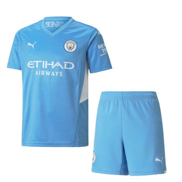 Manchester City Home Kit 2021/22 By Puma
