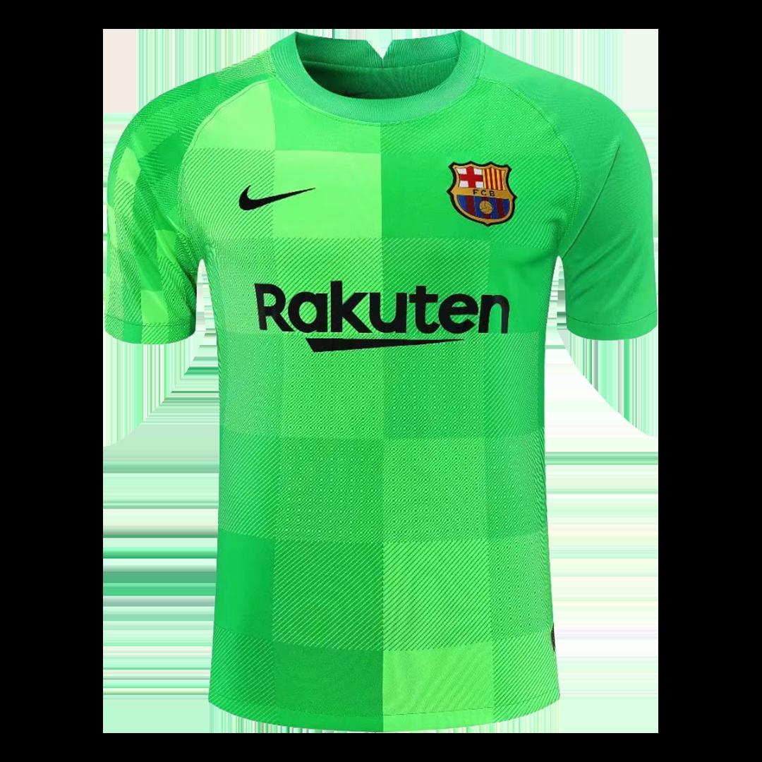 Replica Barcelona Goalkeeper Jersey 2021/22 By Nike
