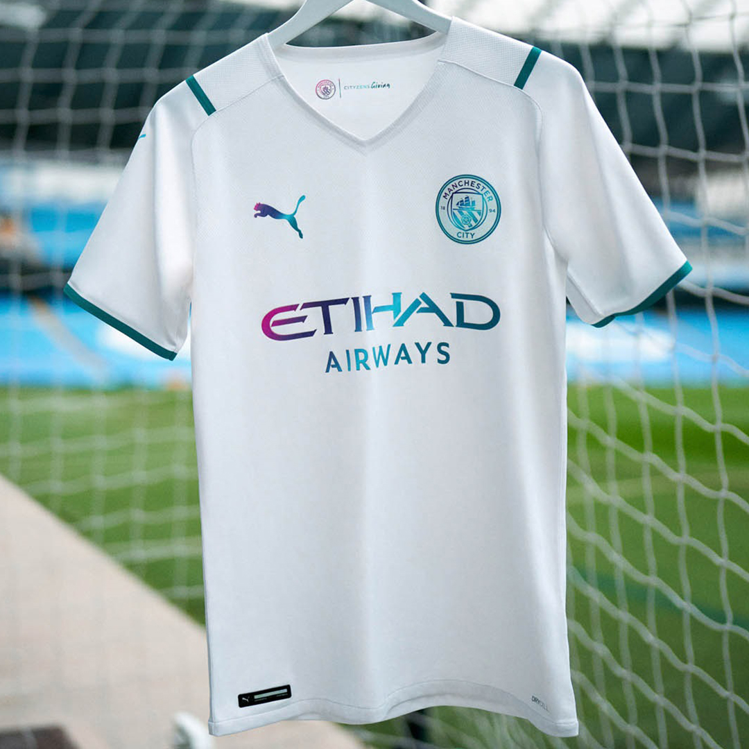Authentic Manchester City Away Jersey 2021/22 By Puma