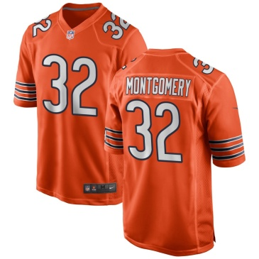NFL Bears MONTGOMERY #32 Chicago Bears Game Jersey