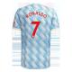 Replica RONALDO #7 Manchester United Away Jersey 2021/22 By Adidas