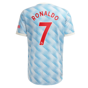Authentic RONALDO #7 Manchester United Away Jersey 2021/22 By Adidas