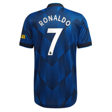 Authentic RONALDO #7 Manchester United Third Away Jersey 2021/22 By Adidas