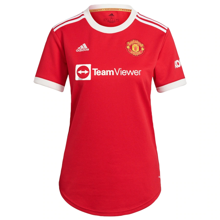 Replica United RONALDO #7 Manchester United Home Jersey 2021/22 By Adidas Women-UCL Edition