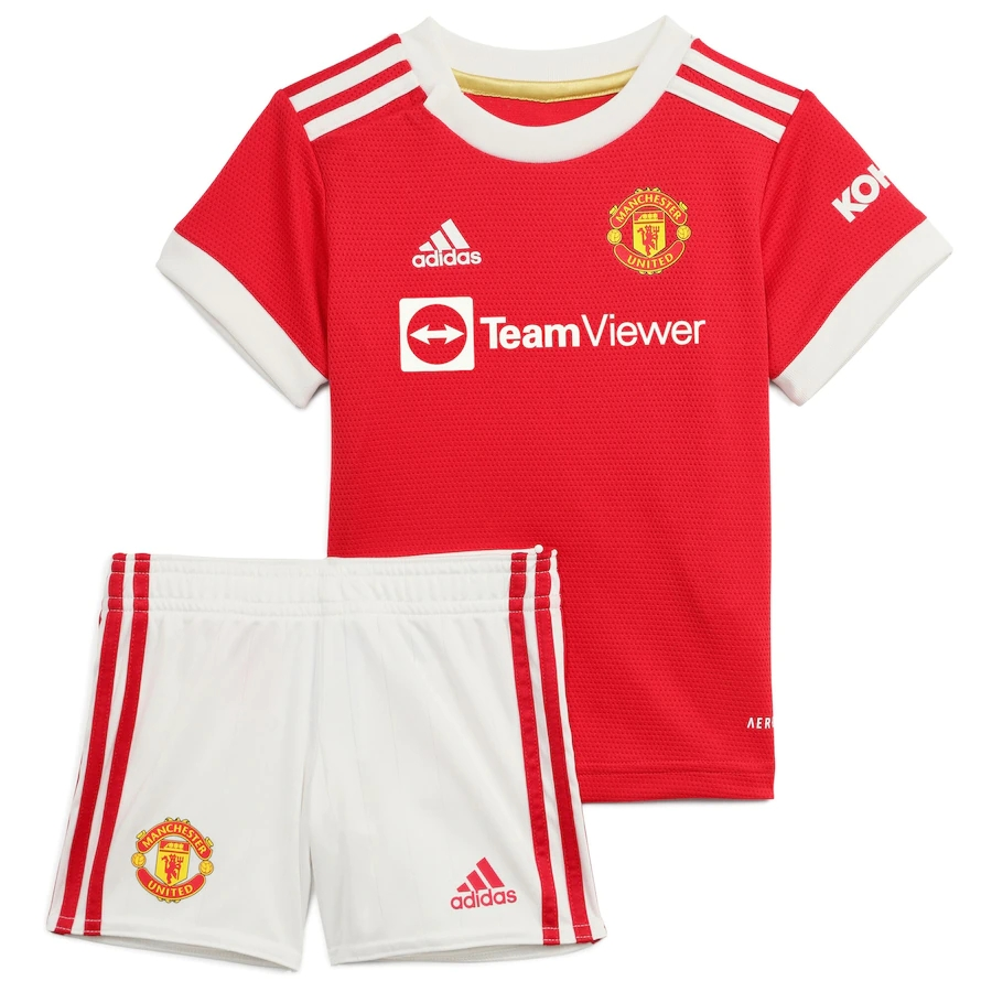 RONALDO #7 Manchester United Home Kit 2021/22 By Adidas Kids