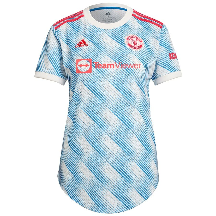 Replica RONALDO #7 Manchester United Away Jersey 2021/22 By Adidas Women-UCL Edition