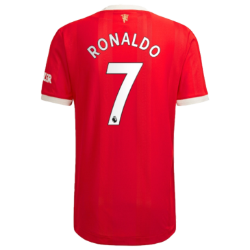 Authentic RONALDO #7 Manchester United Home Jersey 2021/22 By Adidas