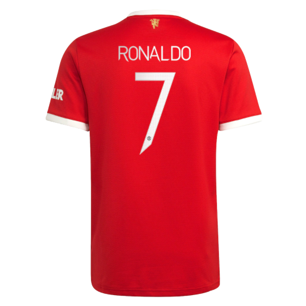 Replica RONALDO #7 Manchester United Home Jersey 2021/22 By Adidas-UCL Edition